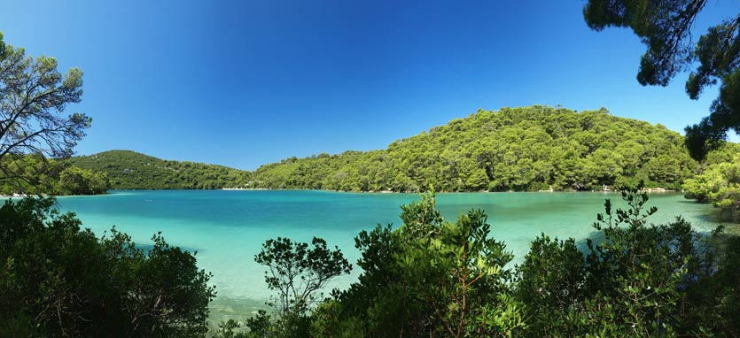 Croatian Mljet Islands