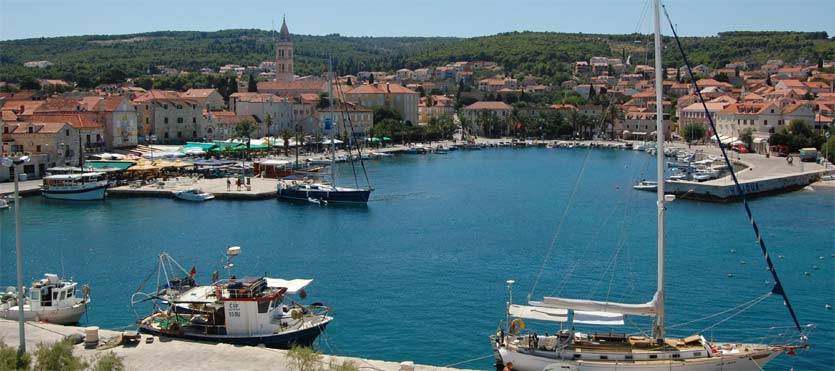 Croatian Islands - Supetar On Brac Island