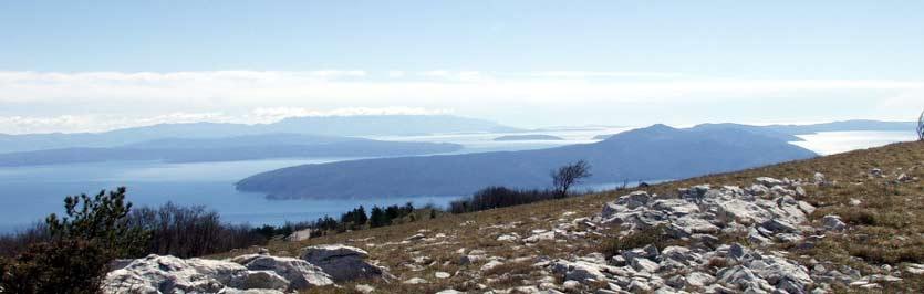 Nature park Ucka Istrian peninsula