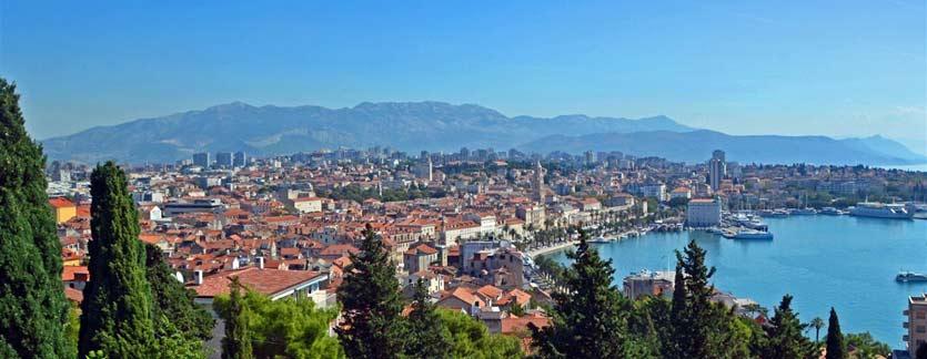 Split Dalmatia Croatian Coast