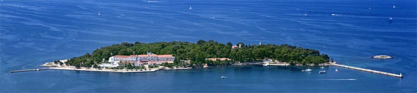 Croatian islands Istria