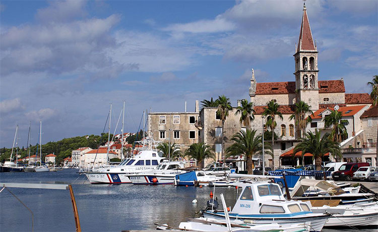 Croatian Island Of Brac