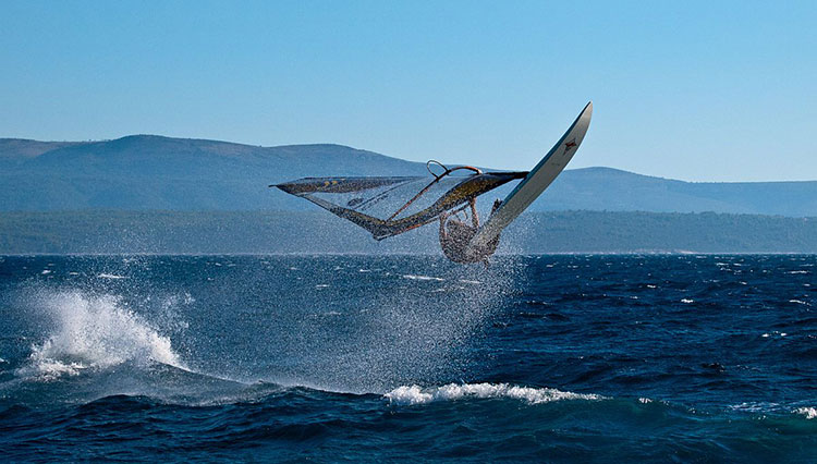 Croatian Islands Windsurfing on Brac