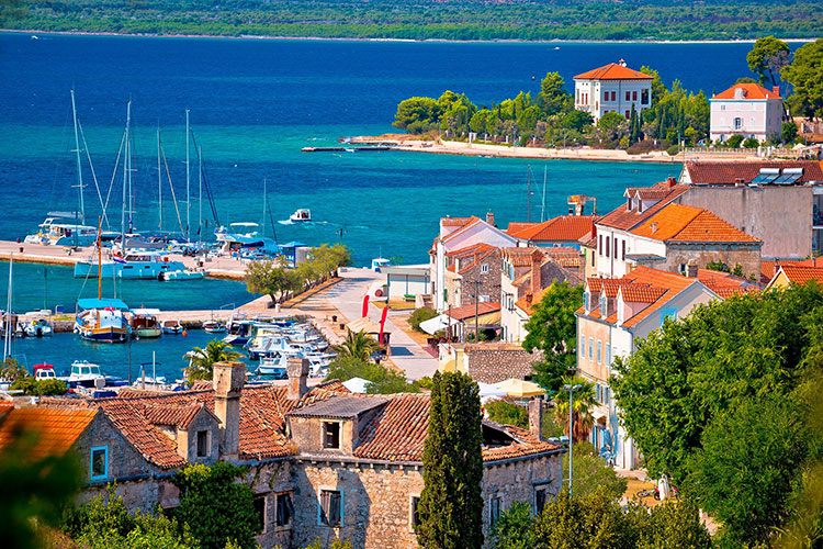 Croatian Island Of Zlarin